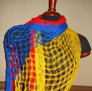 Bufanda colores bandera de Colombia