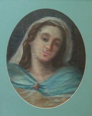 Adriana Billini - Pastel / Cartulina