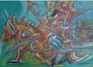 Tony Garpeco - Quijote - 30 x 40