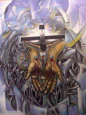 Carlos Grant - 2013 - Serie Laberinto - Cristo 1