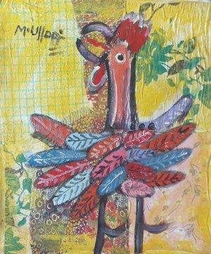 Miguel Ulloa - 24 x 20 - Gallo - 2
