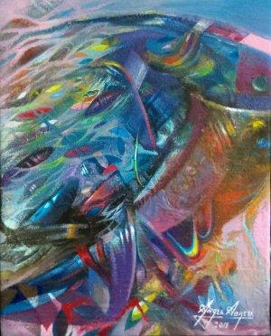 Angel Abreu 8 x 10 - Exposición