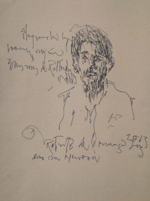 José Cestero - Retrato de Domingo Liz