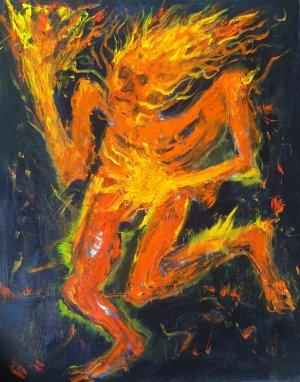 Wilson Abreu - El hombre en llamas
