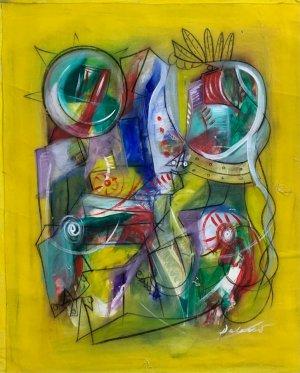 Pablo Palasso - Mujeres con flores