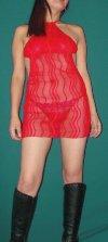 Vestido Sexy en Gasa