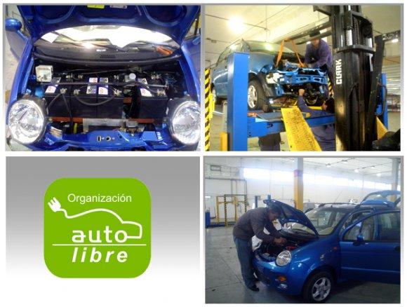 Nuevo Curso completo de conversión de vehículos eléctricos.