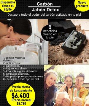 JABON CARBON ACTIVADO