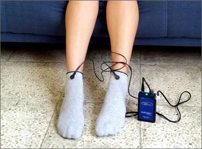 uso de rebuilder con calcetines
