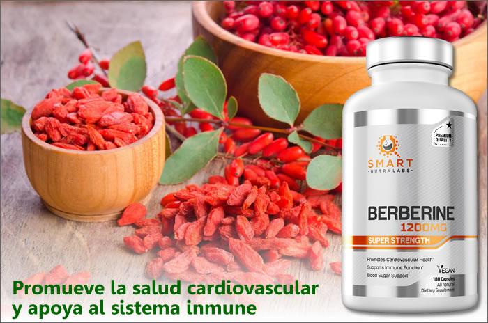 berberina para el sistema cardiovascular