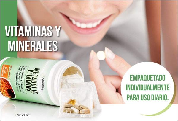 metabolic vitamins naturalslim