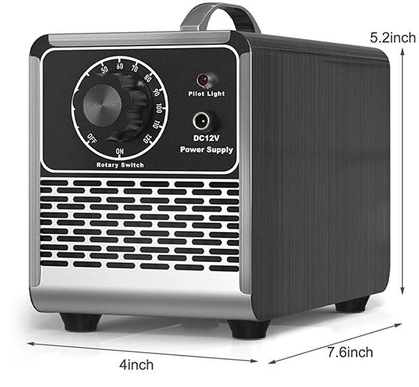 generador de ozono de 5000 mg