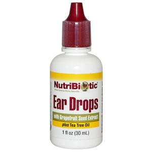 Gotas para los oídos con Extracto de Semilla de Toronja (Pomelo) 1 fl oz