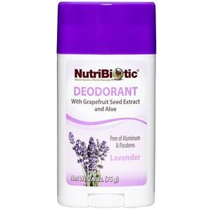Desodorante con GSE, Witch Hazel y Aloe Vera, olor a Lavanda