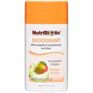 Desodorante con GSE, Witch Hazel y Aloe Vera, olor a Mango Melón