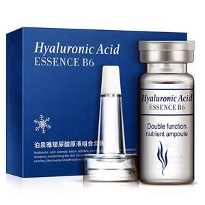 Gel Facial de Ácido Hialurónico con Vitamina B6 (Set x 10 amp.)