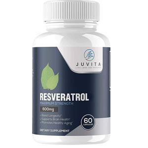 Resveratrol Extra Fuerte 600mg 60 cápsulas