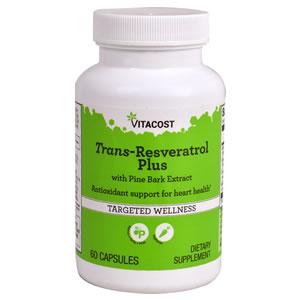 Trans-Resveratrol Plus 60 Cápsulas