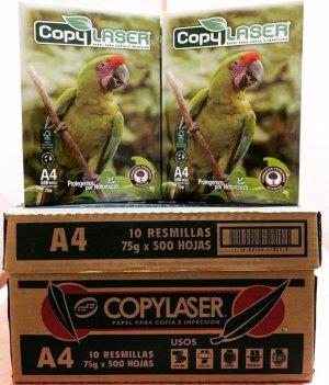 PAPEL BOND A4 DE 75 GR COPYLASER