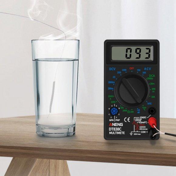Multimetro con control de temperatura