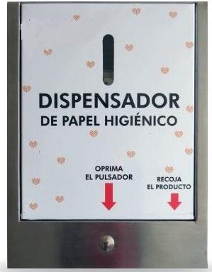 Dispensador digital de papel