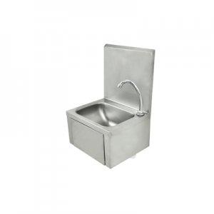 Lavamanos de acero manos libres