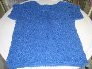 Blusa Punta Granizo Azul