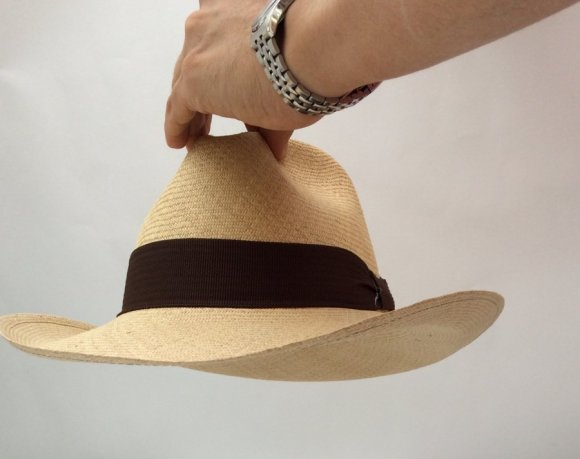 Sombrero Aguadeño Borsalino Cafe Fino