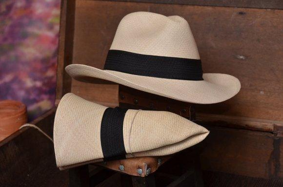 Sombrero Aguadeño Borsalino Superfino (Tradicional)  Se Puede Doblar