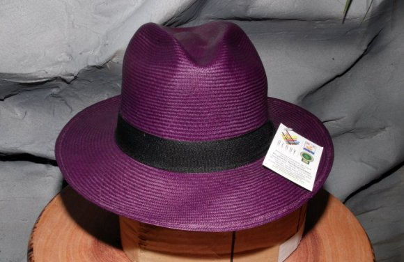 Sombrero Color Morado (Berenjena)