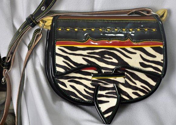 Carriel Dama Tipo Zebra