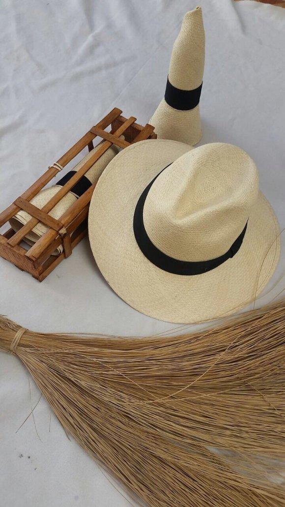 Sombrero Indiana Aguadeño Premium (Tipo Exportación) Se Puede Doblar