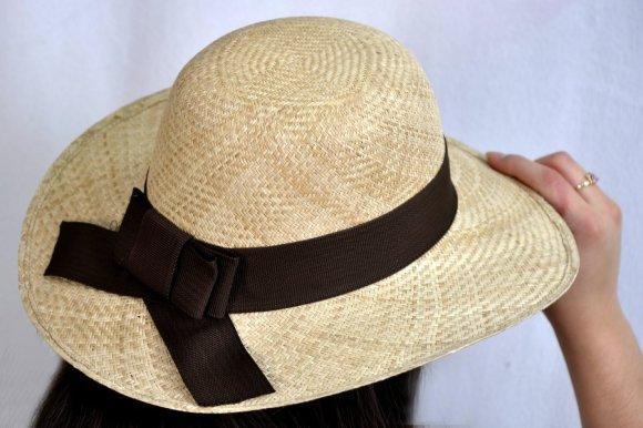 Sombrero Dama Café Estilo Indiana