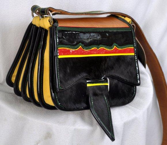Carrriel Tradicional Cuadrado Negro # 12