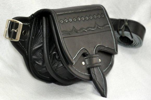 Riñonera (Canguro ) Negro