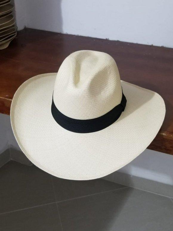 Sombrero Alón Blanco 10-11 cms Extrafino