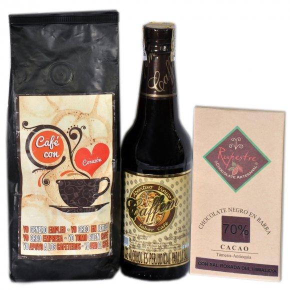 Café, Vino y Chocolate