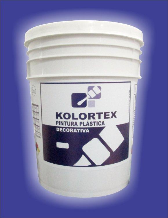 BLANCO KOLORTEX PINTURA TIPO B PLASTICA DECORATIVA 4 GAL