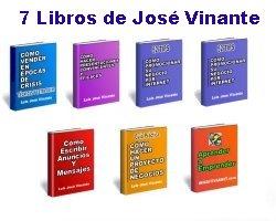 Pack 7 eBooks de Luis José Vinante