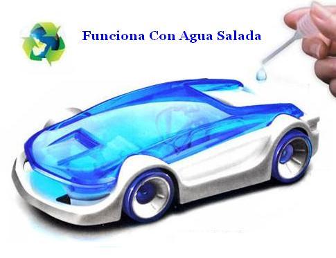 Vehiculo Propulsado por Agua Salada