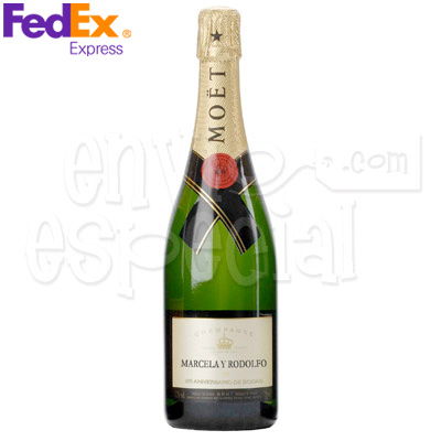Champagne Moët Chandon Personalizada