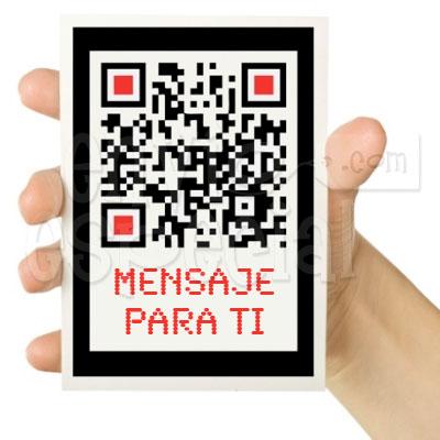 Mensaje en Código QR