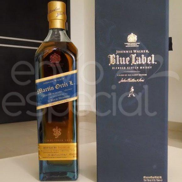 Whisky Johnnie Walker Blue Label Personalizado