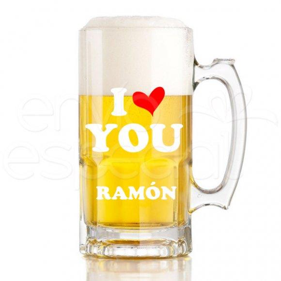 Tarro I Love You