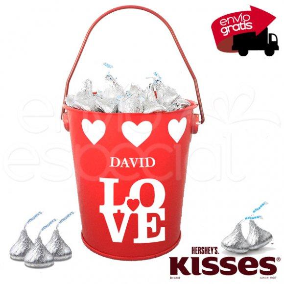 Cubetita de Kisses Personalizada