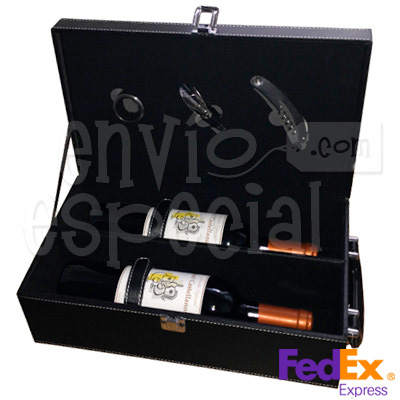 Caja Doble de Vino Personalizado