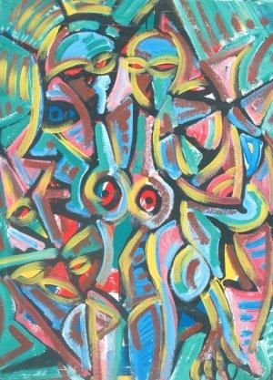 Jesus Desangles-Abstracto