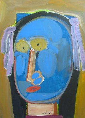 Alberto Ulloa-Rostro azul
