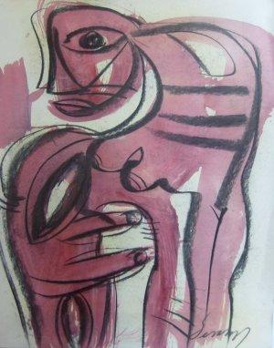 Jesus Desangles-Mujer deformada