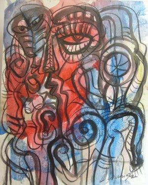 Jesus Desangles-Mirada del artista